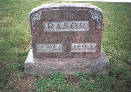 SHARP RASOR, RACHEL E. - Pickaway County, Ohio | RACHEL E. SHARP RASOR - Ohio Gravestone Photos