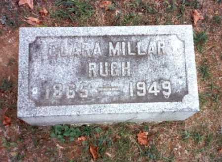 RUGH, CLARA - Pickaway County, Ohio | CLARA RUGH - Ohio Gravestone Photos