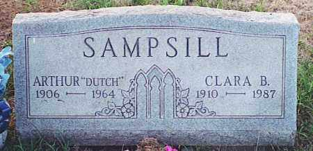 SAMPSILL, CLARA B. - Pickaway County, Ohio   CLARA B. SAMPSILL - Ohio Gravestone Photos