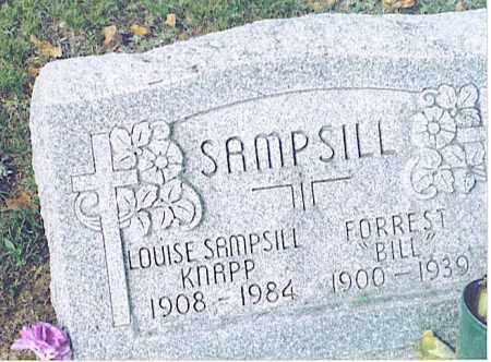 """SAMPSILL, FORREST """"BILL"""" - Pickaway County, Ohio   FORREST """"BILL"""" SAMPSILL - Ohio Gravestone Photos"""