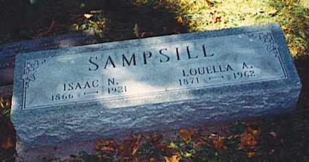 SAMPSILL, ISAAC N. - Pickaway County, Ohio | ISAAC N. SAMPSILL - Ohio Gravestone Photos