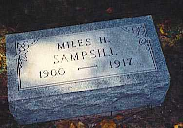 SAMPSILL, MILES H. - Pickaway County, Ohio   MILES H. SAMPSILL - Ohio Gravestone Photos