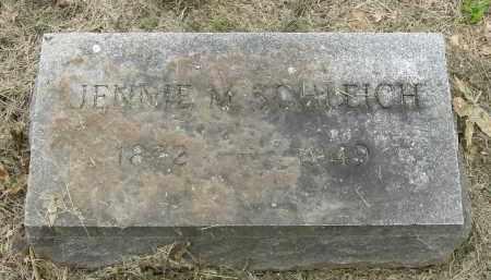 THOMPSON SCHLEICH, JENNIE MARGARET - Pickaway County, Ohio   JENNIE MARGARET THOMPSON SCHLEICH - Ohio Gravestone Photos