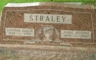 STRALEY, LOUVENA - Pickaway County, Ohio | LOUVENA STRALEY - Ohio Gravestone Photos
