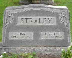 STRALEY, ROSS - Pickaway County, Ohio | ROSS STRALEY - Ohio Gravestone Photos