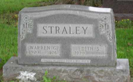 STRALEY, WARREN GAMALIEL - Pickaway County, Ohio | WARREN GAMALIEL STRALEY - Ohio Gravestone Photos