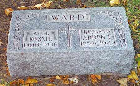 WARD,, DESSIE & ARDEN E. - Pickaway County, Ohio | DESSIE & ARDEN E. WARD, - Ohio Gravestone Photos