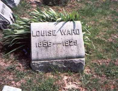 MCCANN WARD, LOUISE - Pickaway County, Ohio | LOUISE MCCANN WARD - Ohio Gravestone Photos