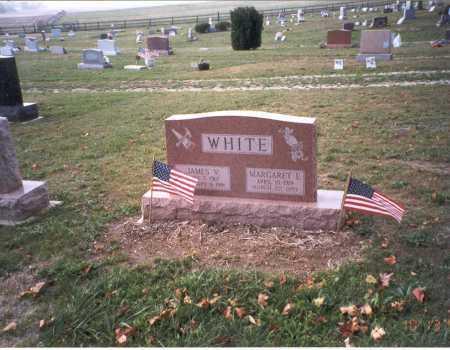 WHITE, JAMES VERNON - Pickaway County, Ohio | JAMES VERNON WHITE - Ohio Gravestone Photos