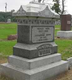 WORK, CATHARINE - Pickaway County, Ohio | CATHARINE WORK - Ohio Gravestone Photos