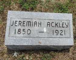 ACKLEY, JEREMIAH - Pike County, Ohio | JEREMIAH ACKLEY - Ohio Gravestone Photos