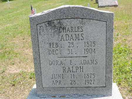 ADAMS, CHARLES - Pike County, Ohio | CHARLES ADAMS - Ohio Gravestone Photos