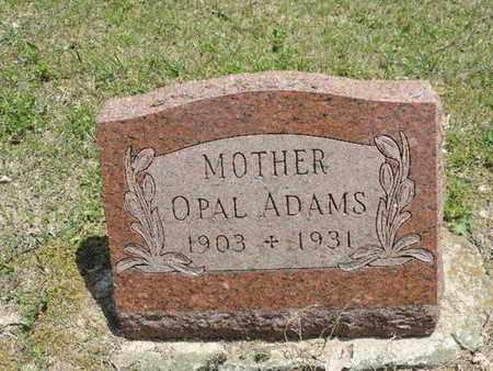 ADAMS, OPAL - Pike County, Ohio | OPAL ADAMS - Ohio Gravestone Photos