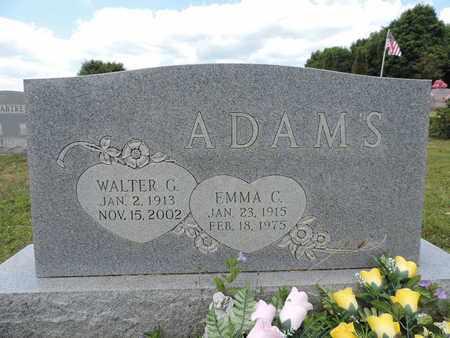ADAMS, WALTER G. - Pike County, Ohio | WALTER G. ADAMS - Ohio Gravestone Photos