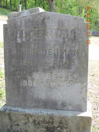 ALDERMAN, CHLOE BELLE - Pike County, Ohio   CHLOE BELLE ALDERMAN - Ohio Gravestone Photos