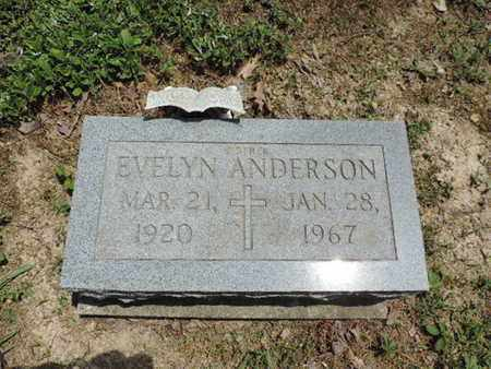 ANDERSON, EVELYN - Pike County, Ohio   EVELYN ANDERSON - Ohio Gravestone Photos