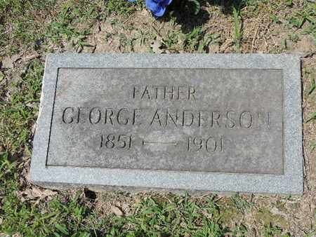 ANDERSON, GEORGE - Pike County, Ohio | GEORGE ANDERSON - Ohio Gravestone Photos