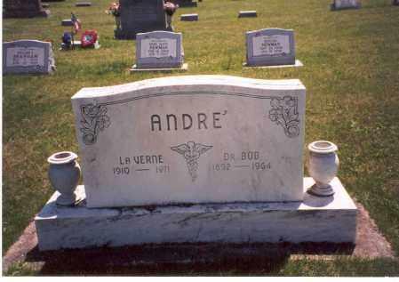 ANDRE', DR.  BOB - Pike County, Ohio | DR.  BOB ANDRE' - Ohio Gravestone Photos