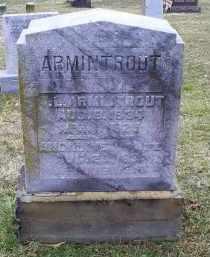 ARMINTROUT, ANGELINE - Pike County, Ohio   ANGELINE ARMINTROUT - Ohio Gravestone Photos