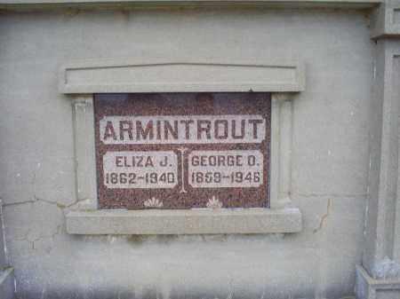 ARMINTROUT, ELIZA J. - Pike County, Ohio   ELIZA J. ARMINTROUT - Ohio Gravestone Photos