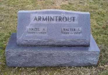 ARMINTROUT, HAZEL A. - Pike County, Ohio | HAZEL A. ARMINTROUT - Ohio Gravestone Photos