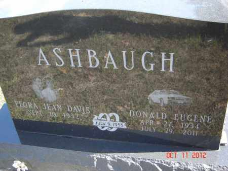 ASHBAUGH, FLORA JEAN - Pike County, Ohio | FLORA JEAN ASHBAUGH - Ohio Gravestone Photos