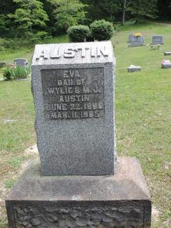 AUSTIN, EVA - Pike County, Ohio | EVA AUSTIN - Ohio Gravestone Photos