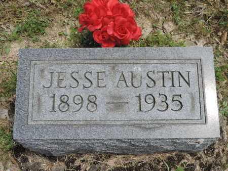 AUSTIN, JESSE - Pike County, Ohio   JESSE AUSTIN - Ohio Gravestone Photos