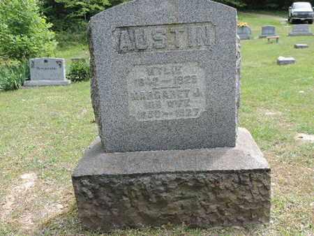AUSTIN, MARGARET J. - Pike County, Ohio | MARGARET J. AUSTIN - Ohio Gravestone Photos