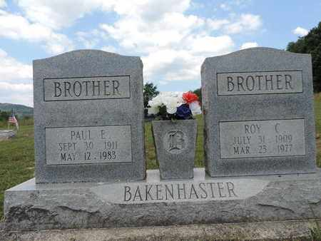 BAKENHASTER, ROY C. - Pike County, Ohio   ROY C. BAKENHASTER - Ohio Gravestone Photos