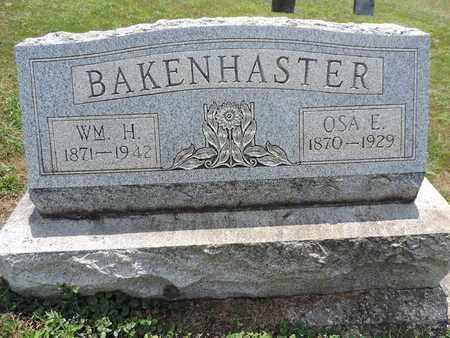 BAKENHASTER, OSA E. - Pike County, Ohio | OSA E. BAKENHASTER - Ohio Gravestone Photos