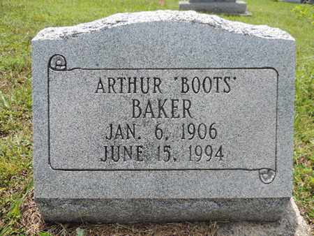 BAKER, ARTHUR - Pike County, Ohio | ARTHUR BAKER - Ohio Gravestone Photos
