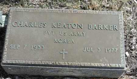 BARKER, CHARLES KEATON - Pike County, Ohio   CHARLES KEATON BARKER - Ohio Gravestone Photos