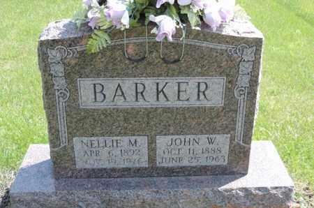 BARKER, JOHN W. - Pike County, Ohio | JOHN W. BARKER - Ohio Gravestone Photos