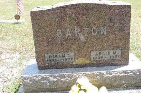 BARTON, ARLIE M - Pike County, Ohio | ARLIE M BARTON - Ohio Gravestone Photos