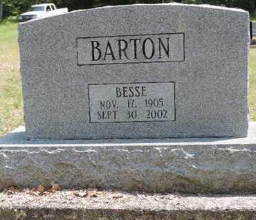 BARTON, BESSE - Pike County, Ohio   BESSE BARTON - Ohio Gravestone Photos