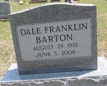 BARTON, DALE FRANKLIN - Pike County, Ohio   DALE FRANKLIN BARTON - Ohio Gravestone Photos