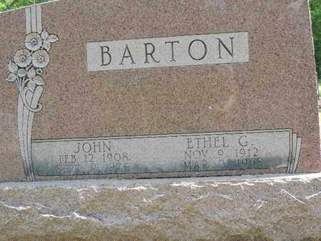 BARTON, JOHN - Pike County, Ohio | JOHN BARTON - Ohio Gravestone Photos