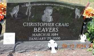 BEAVERS, CHRISTOPHER CRAIG - Pike County, Ohio   CHRISTOPHER CRAIG BEAVERS - Ohio Gravestone Photos
