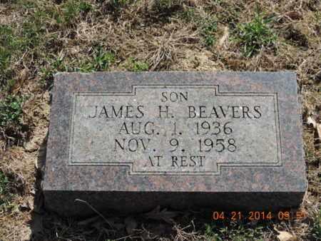 BEAVERS, JAMES H - Pike County, Ohio   JAMES H BEAVERS - Ohio Gravestone Photos