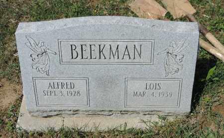 BEEKMAN, ALFRED - Pike County, Ohio   ALFRED BEEKMAN - Ohio Gravestone Photos