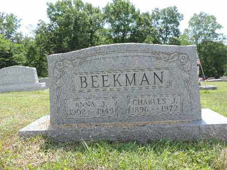 BEEKMAN, ANNA J. - Pike County, Ohio | ANNA J. BEEKMAN - Ohio Gravestone Photos