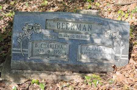 BEEKMAN, GERALD J. - Pike County, Ohio | GERALD J. BEEKMAN - Ohio Gravestone Photos