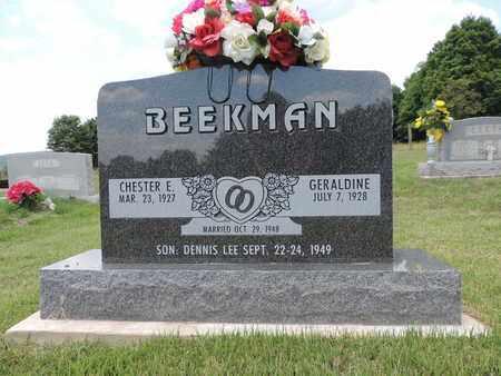 BEEKMAN, GERALDINE - Pike County, Ohio | GERALDINE BEEKMAN - Ohio Gravestone Photos