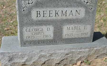 BEEKMAN, MABEL E. - Pike County, Ohio | MABEL E. BEEKMAN - Ohio Gravestone Photos