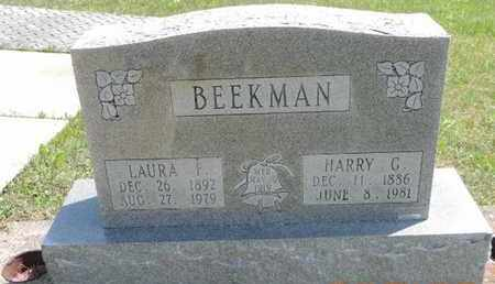 BEEKMAN, LAURA F - Pike County, Ohio | LAURA F BEEKMAN - Ohio Gravestone Photos
