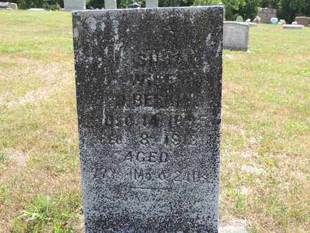 BEEKMAN, SUSAN - Pike County, Ohio | SUSAN BEEKMAN - Ohio Gravestone Photos
