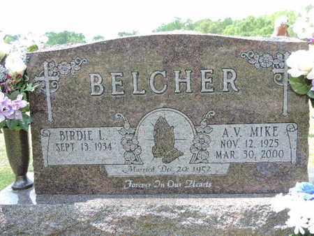 BELCHER, A.V.MIKE - Pike County, Ohio | A.V.MIKE BELCHER - Ohio Gravestone Photos