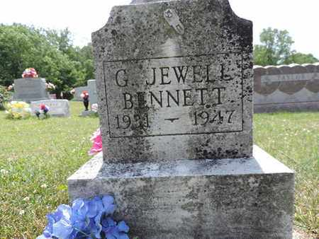 BENNETT, G. JEWELL - Pike County, Ohio | G. JEWELL BENNETT - Ohio Gravestone Photos