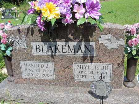 BLAKEMAN, HAROLD J. - Pike County, Ohio | HAROLD J. BLAKEMAN - Ohio Gravestone Photos